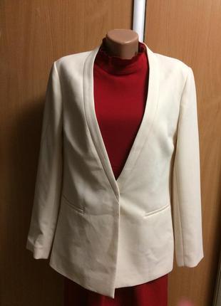 Пиджак жакет кардиган размер 12