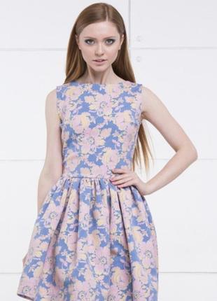 Новое мятное платье cher nika
