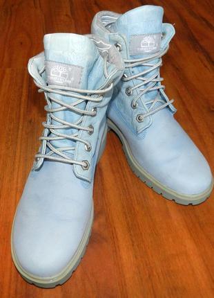 Timberland! шикарные, мега крутые ботинки из кожи и нубука