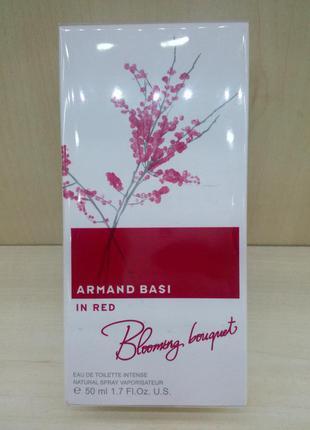 Armand basi in red blooming bouquet арманд баси ин ред блуминг букет оригинал, супер цена