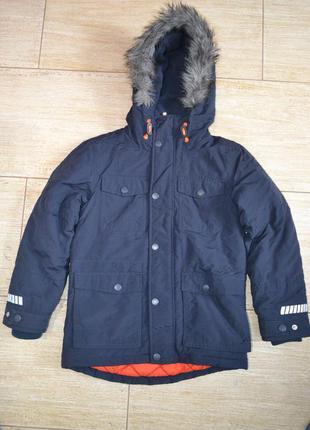 Next 9лет 134см. куртка парка. демисезон зимняя еврозима курточка
