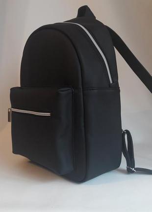 Вместительный женский рюкзак черный лучшая цена