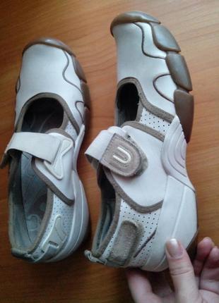 Рр 6- 25,1 см спортивные балетки кроссовки от clarks