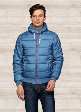 Куртка двухсторонняя alcott, р.m. новая мужская демисезонная курточка