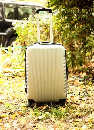 🔥качество! чемодан из поликарбоната ручная кладь валіза пластикова доставка!