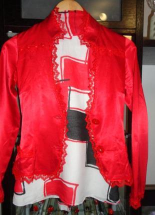 Очень #красивый красный пиджак