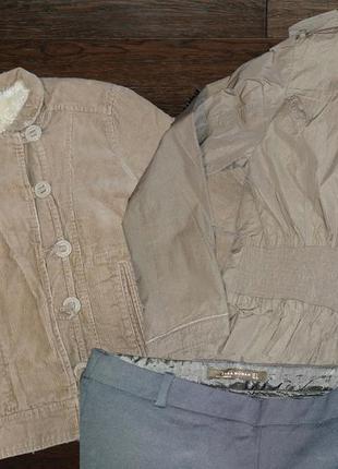 Вельветовая теплая куртка ostin
