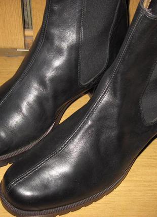 Ботинки итальянские кожа 39 размер