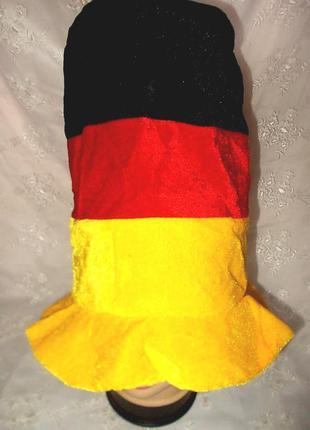Шляпа-цилиндр маскарадная качественная для фанов германия