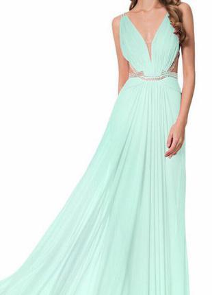 Продам вечернее выпускное платье terani couture