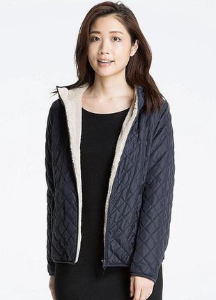 Куртка с шерпой