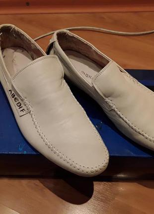 Мокасины, туфли мужские 43 р, 29 см, полномерный. carlo pazolini