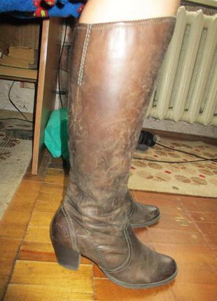 Сапоги кожа marco tozzi,39