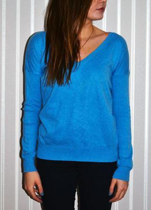 Голубой свитер terranova