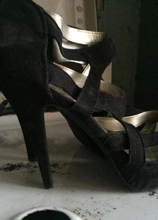 Туфли под замш