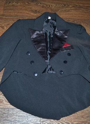 Пиджак нарядный как новый на девочку 6-7лет сток!