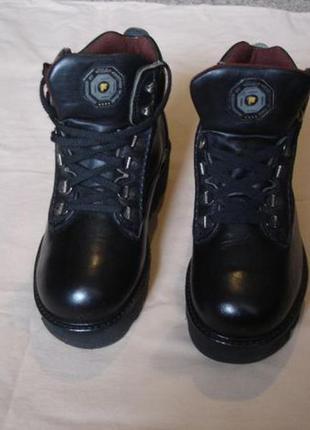 Ботинки кожаные fila (italy)