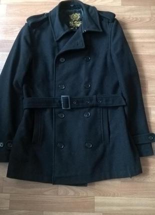 Мужское классическое пальто