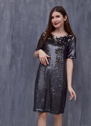 Платье на паетках