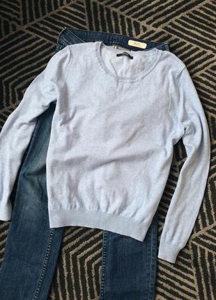 Кофта george голуба синя светр класичний