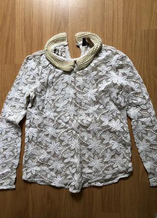 Блуза с вышивкой2 фото