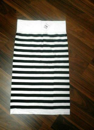 Трансформер юбка-платье. юбка полосатая. платье полосатое