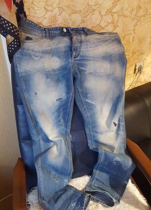 Эксклюзивные джинсы jack & jones  erik/anti fit   италия
