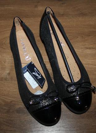 Туфли на танкетке, балетки caprice, 37 размер
