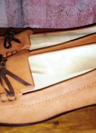 Замшевые туфли hobbs, италия, 38р