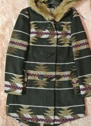 Пальто орнамент terranova