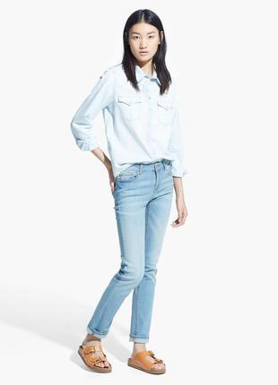 Шикарные джинсы от mango, высокий рост, 36, 38р, испания, оригинал