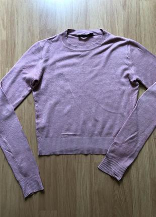 Джемпер пыльно-розовый