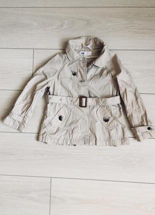 Плащик для маленької модниці h&m