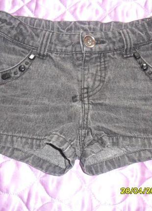 Шорты джинс черного цвета  в отличном состоянии.