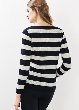 Свитер джемпер пуловер полосатый