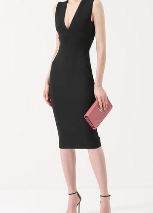 Черное платье футляр h&m