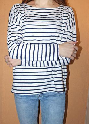 Гольф в полоску (кофта, джемпер, пуловер, свитер)