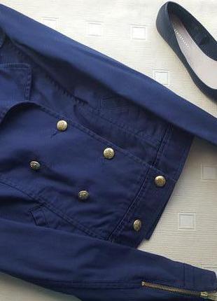 Стильный двубортный пиджак-куртка в стиле balenciaga