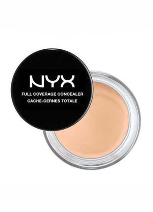 Консилер корректор в баночке nyx full coverage concealer | usa