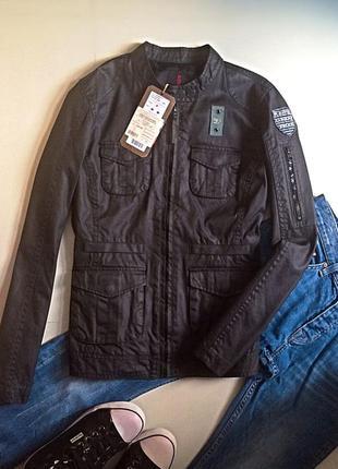 Куртка в стилі мілітарі tom tailor denim,p.m