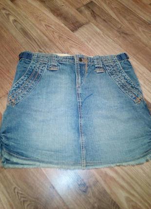 Оригинальная мини юбка naf-naf