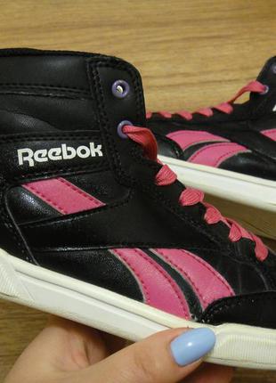 Стильные кеды, ботинки кроссовки reebok на девочку р. 33 стелька 21,5