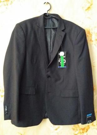Новый приталенный пиджак с бирками размера 52/54
