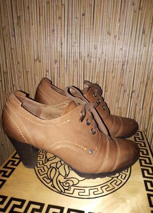 Ботиночки туфли marco tozzi
