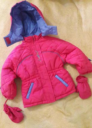Куртка, курточка демисезонная двусторонняя