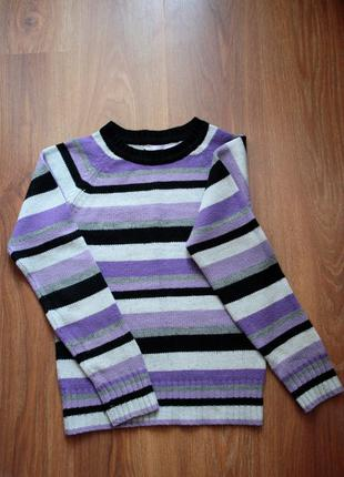 Полосатый свитер terranova