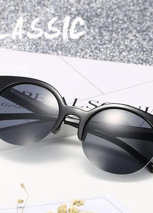 Солнцезащитные очки cats eyes кошечки 2018 в наличии