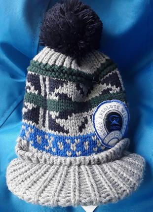 #розвантажуюсь geox шапка с козырьком