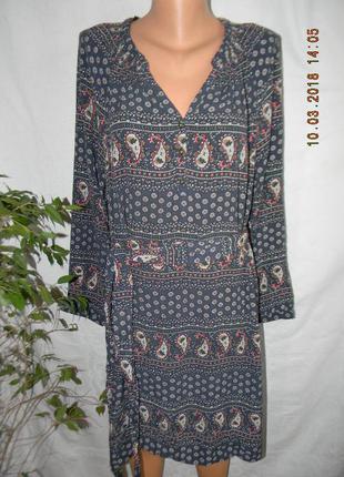 Платье с принтом papaya