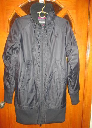 """Новая женская стильная удлиненный бомбер, свободного кроя,  демисезон куртка. """"mitch&co."""